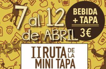 7 al 12 de abril. San Fernando. Ruta de la minitapa