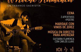 Noche flamenca en el Tabanco Sacristía el 21 de noviembre