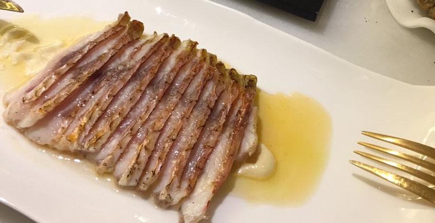 El salmonete de Lu Cocina y Alma
