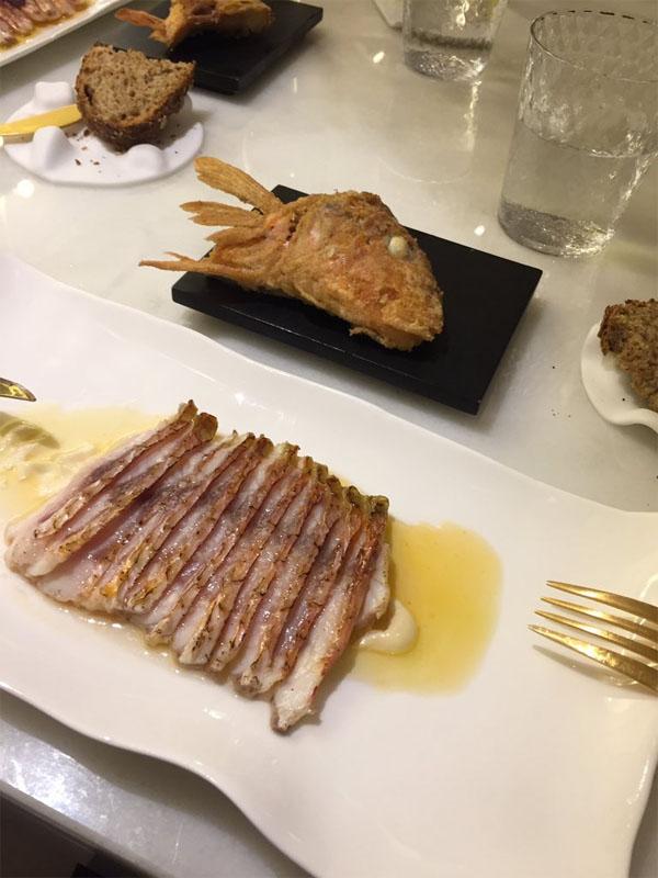 El salmonete de Lu Cocina y Alma fotografiado por el tapatólogo José Manuel Cossi