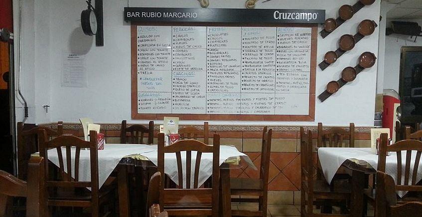 Bar Rubio Marcario