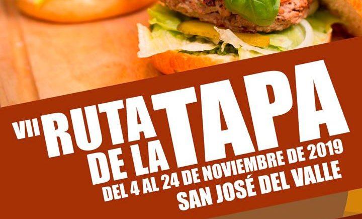 Ruta de la tapa en San José del Valle del 4 al 24 de noviembre