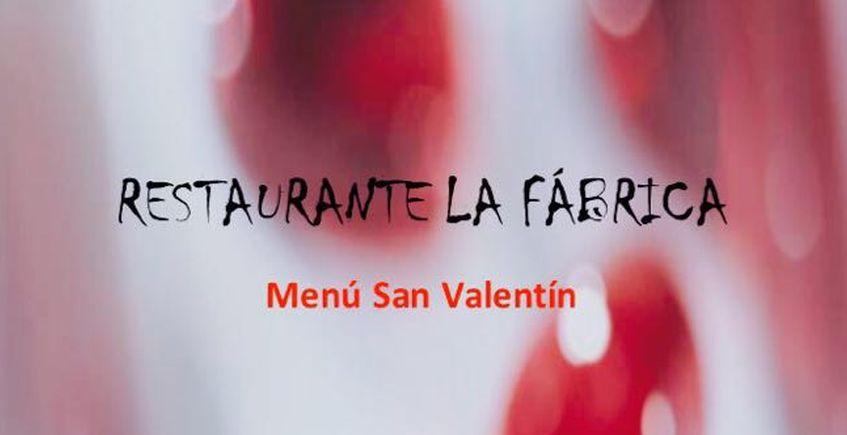 14 de febrero. Benalup. Menú de San Valentín en La Fábrica