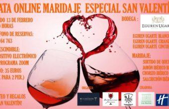 Cata virtual por San Valentín en Los Barrios
