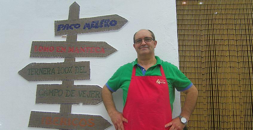 Paco Melero ya vende su lomo en manteca y embutidos por internet