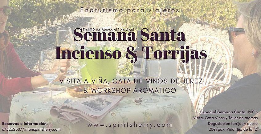 Del 22 de marzo al 1 de abril. Jerez. Semana Santa, incienso y torrijas