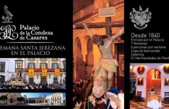 9 al 14 de abril. Jerez. Un bar transformado en Palacio por Semana Santa