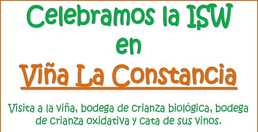 10 de noviembre. Jerez. Celebración de la Sherry Week en Viña La Constancia