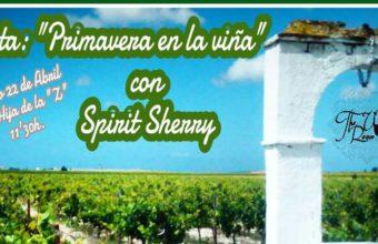 22 de abril. Jerez. Visita 'Primavera en la Viña'