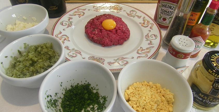 Steak tartar al oloroso del restaurante El Abaco