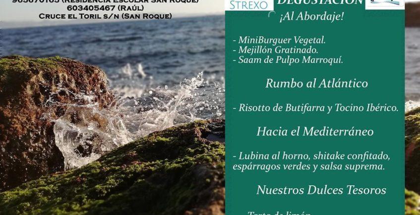 Menú degustación en Strexo de San Roque para el 7 de noviembre