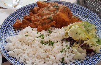 El curry de pescado y langostinos del bar Sumia