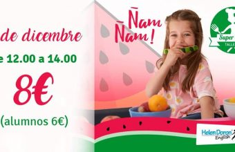 7 de diciembre. Algeciras. Taller de cocina en inglés para niños