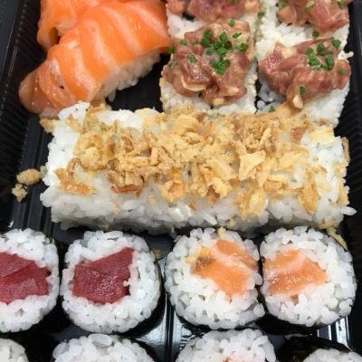 El sushi que elaboran en el establecimiento. Fotos cedidas por Akami.