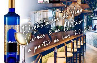 5 de octubre. Chiclana. Degustación de copa de vino Árabe gratuita