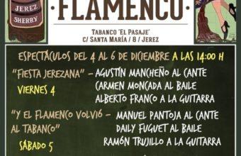 Almuerzo con flamenco en Tabanco El Pasaje