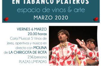 Catas temáticas en Tabanco Plateros (suspendida la del día 20)