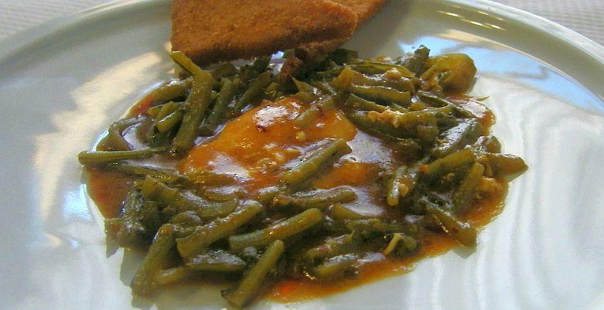 Las tagarninas esparragás del restaurante Venta La Duquesa