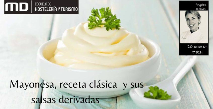 Taller de cocina sobre mayonesa en Jerez