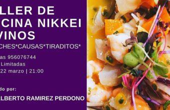 22 de marzo. Cádiz. Taller de cocina nikkei & vinos