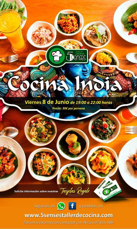 taller de cocina india