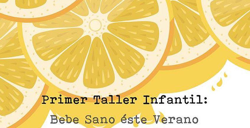 31 de mayo. Cádiz. Taller infantil de limonada