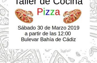 30 de marzo. Rota. Taller de pizzas para niños