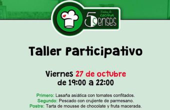 27 de octubre. Jerez. Taller participativo de cocina