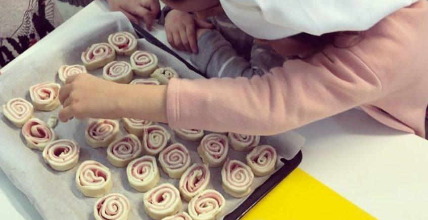 Taller de cocina infantil en Los Toruños