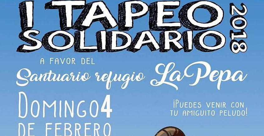 4 de febrero. Cádiz. I Tapeo Solidario a favor del refugio La Pepa en Akasha Lounge Bar