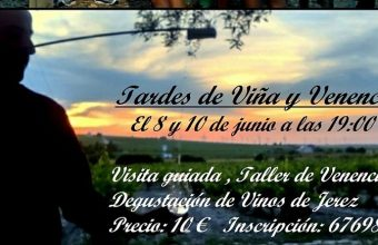 8 y 10 de junio. Jerez. Tardes de viña y venencia