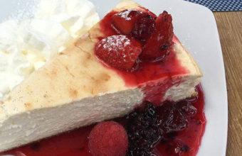 La tarta de queso del restaurante Al Lago