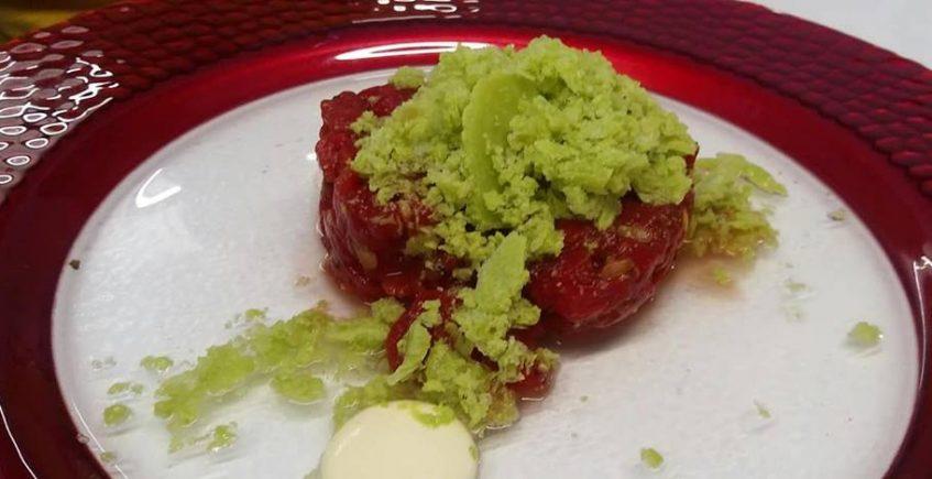 El tartar vegetal de Código de Barra