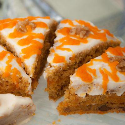 Una de las tartas que elabora el establecimiento. Foto: Cedida por la pastelería La Medina.