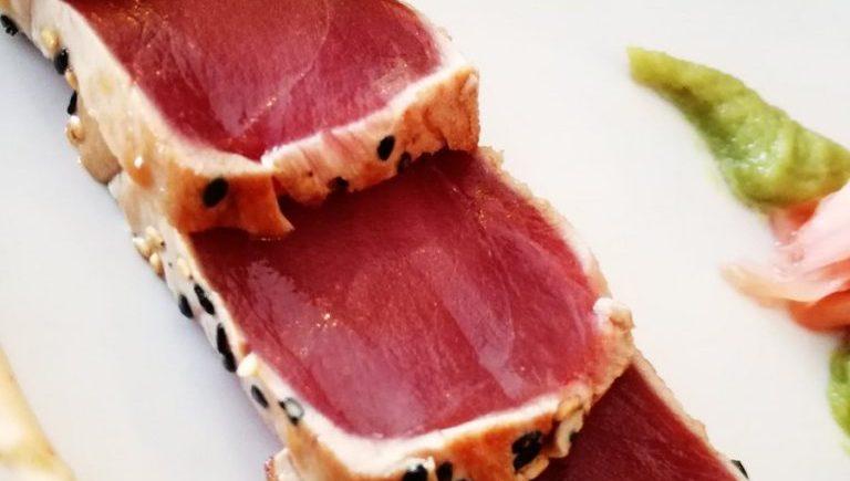El tataki de atún rojo de almadraba de Casa Varo