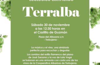 Presentación del vino blanco ecológico Terralba en Trebujena