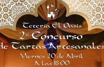 20 de abril. Cádiz. Concurso de tartas artesanales en la Tetería El Oasis