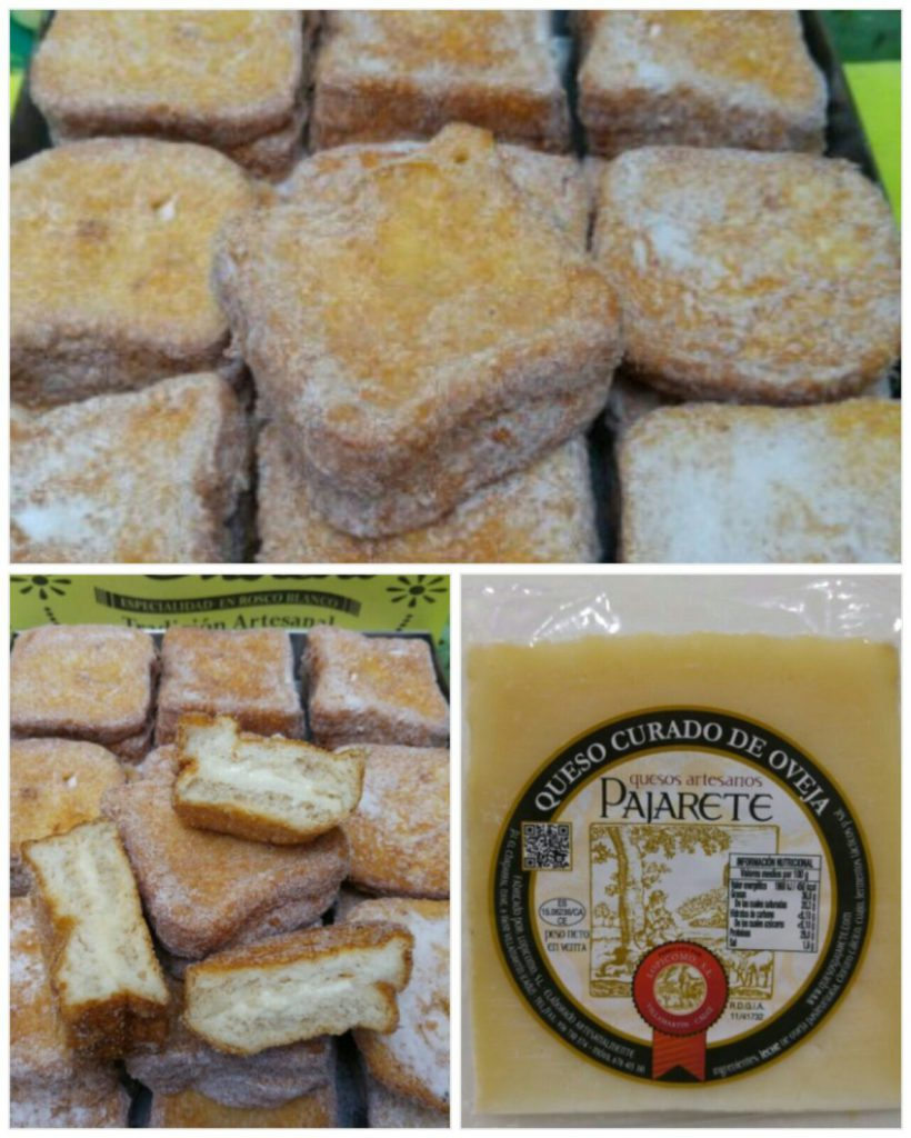 torrijas con queso payoyo