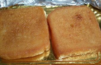 Las torrijas de la panadería Nuestra Señora de Lourdes