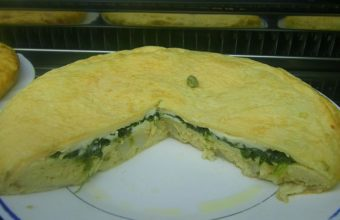 La tortilla de espinacas y queso de El Veedor de Cádiz