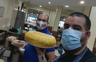 El tortillón del Restaurante Maypa