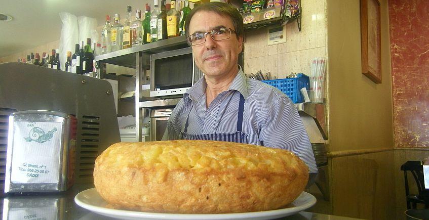 Tortillón del Nebraska de Cádiz