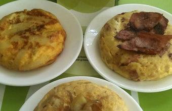 La tortilla de berenjenas de Pancontó