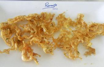 Las tortillitas de camarones de Romerijo