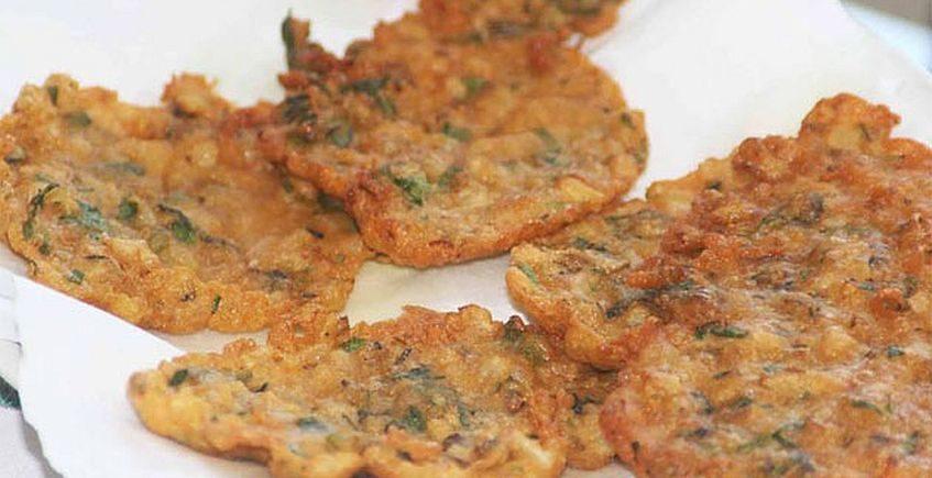 Tortillitas de ostiones