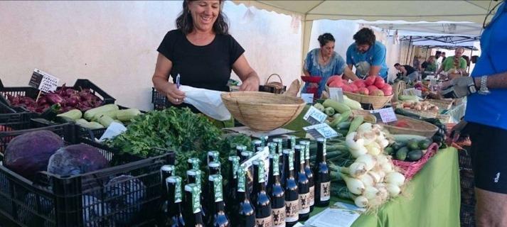Ecomercado de la Red Agroecológica de Cádiz en el Parque Los Toruños