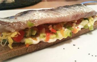 La tosta de sardina ahumada de La Buena Vida