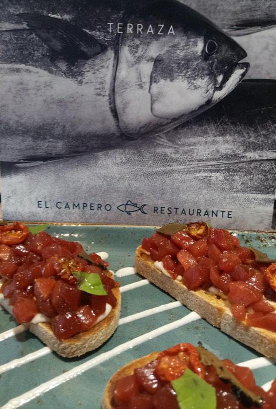 La tosta de El Campero fotografiada por Cuarto y Mitá