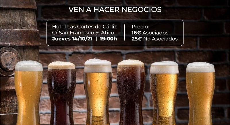 Cata de cerveza y maridaje de AJE Cádiz
