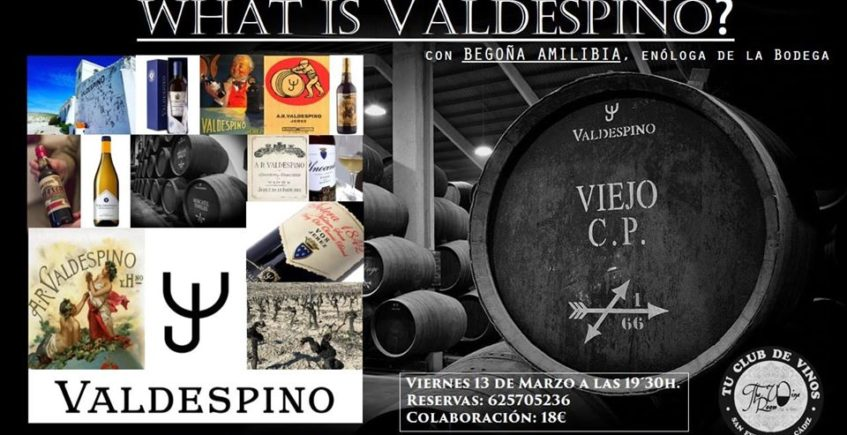 Cata sobre Valdespino en The Wine Room Club de Vinos